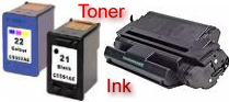 Best prices in printer toner and ink cartridges.