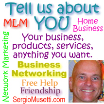 Tell us about YOU Group,add your listing, promote your business, register for free, Business netwokring, free internet resources, free network marketing help, SergioMusetti.com residual income Voiparty business opportunity, home based business, passive income.