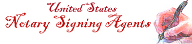 United States Mobile Notary Public Signing Agent